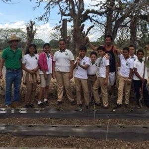 New Gardens for Olancho Aid Students