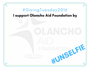 I support Olancho Aid Foundation by ...
